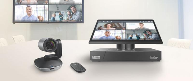 VideoTouch Compact dispone de un panel táctil y permite conectar un ordenador al sistema para compartir la pantalla.