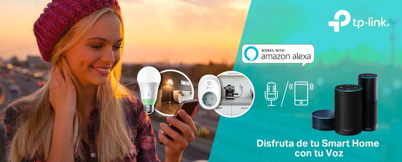 Las bombillas y enchufes inteligentes de TP-Link ya se pueden controlar a través de Alexa.