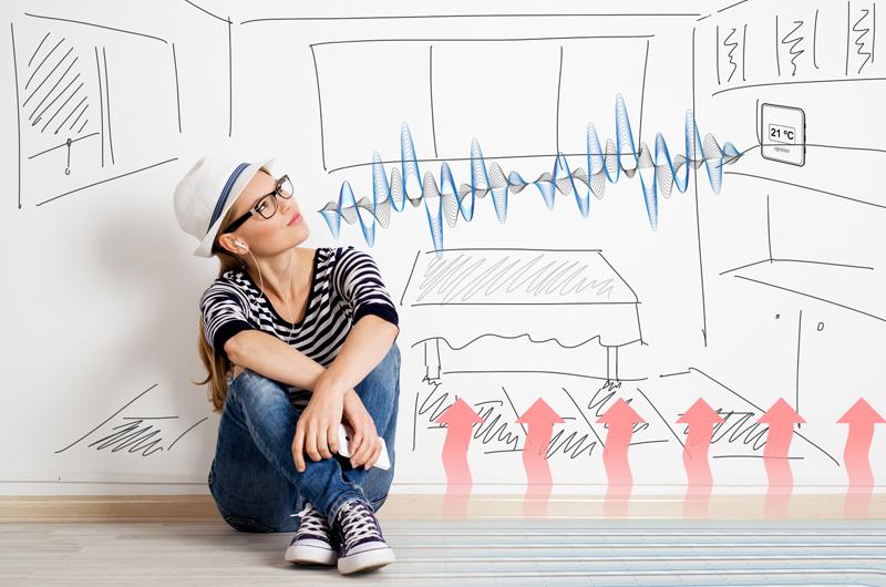AEDAS Homes desarrolla una promoción de viviendas con climatización por suelo radiante inteligente.