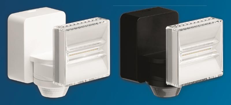 Hager ofrece una solución para las entradas de los edificios con sus proyectores Led con sensor de movimiento.