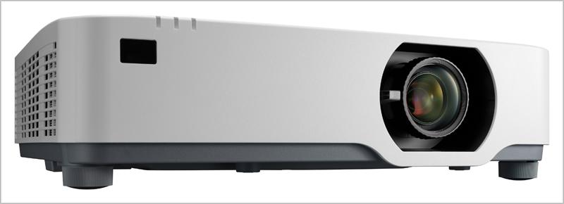 Los nuevos proyectores de NEC compatibilizan el reducido ruido con la posibilidad de compartir contenido.