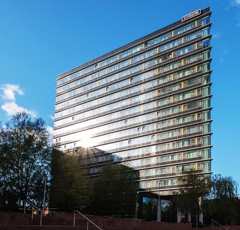 Los nuevos sistemas de iluminación del edificio de lujo en Manchester funcionan de manera automática gracias al protocolo DALI.