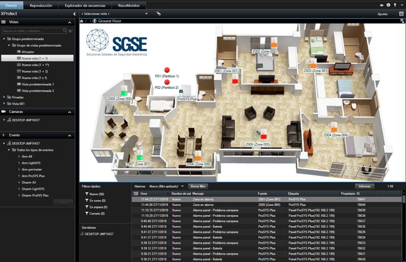 Risco integra una solución para detectar la intrusión en sus paneles LightSYS yProSYS Plus.