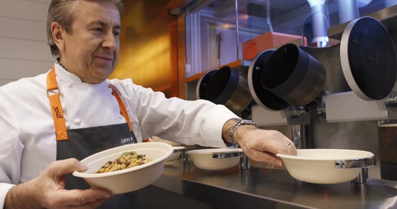 El cocinero de una estrella Michelin, Daniel Boulud, es el director culinario de Spyce.