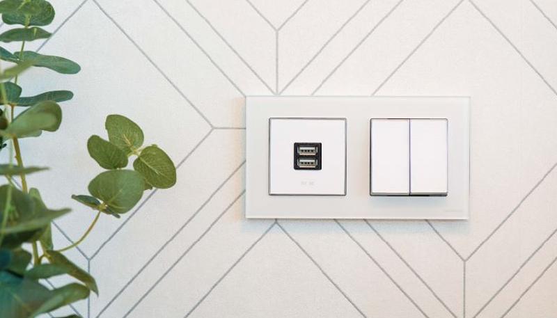 El sistema free@home de ABB permite la gestión de hasta 60 funciones de automatización en los hogares inteligentes.