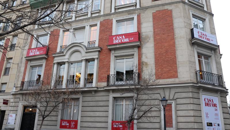 La 54ª Edición de Casa Decor se celebra en el Barrio de Salamanca, concretamente, en la calle Núñez de Balboa 86.