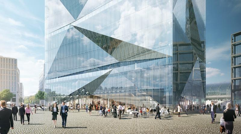 El Cube Berlin es un edificio inteligente de 17.000 metros cuadrados.
