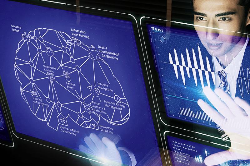 Desde la cabina de gestión, los administradores del sistema tienen una visión completa de toda la información de los componentes electrónicos de las instalaciones.