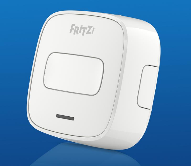 El botón inalámbrico Fritz Dect 400 controla todos los dispositivos inteligentes de Fritz, de una manera inalámbrica.