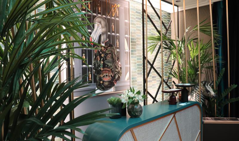 Gira Iberica sorprende al visitante con un lobby de un hotel, donde la luz es la protagonista.