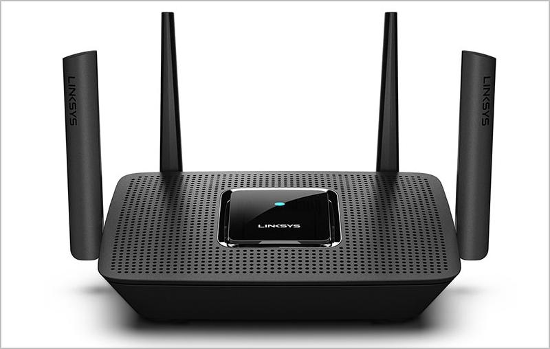 El nuevo router de Linksys integra mesh Wi-Fi para facilitar la expansión de la señal.
