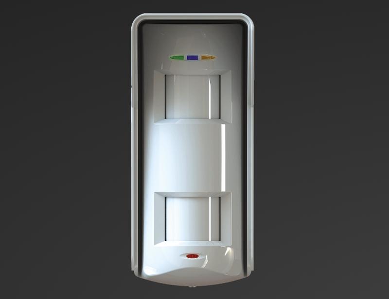 El sensor XD de Pyronix está diseñado para soportar las inclemencias del tiempo y las condiciones lumínicas.