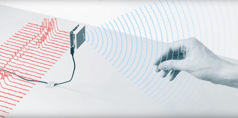 El sensor Soli actúa en la frecuencia de 60 GHz y no requiere un gran ancho de banda.