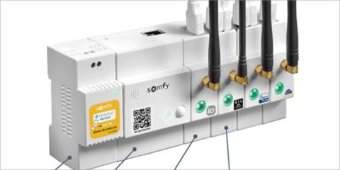 TaHoma Din-Rail, la solución de Somfy para instalaciones inteligentes en las smart homes