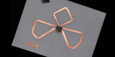 Un sensor BLE del tamaño de una pegatina recopila información de los dispositivos inteligentes