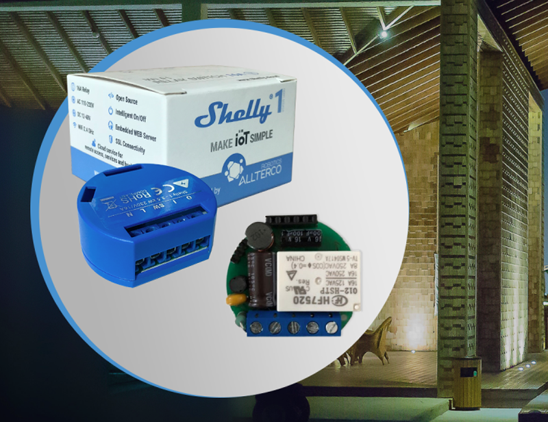 El nuevo conmutador Shelly 1 de Allterco permite gestionar los hoares y oficinas inteligentes desde el teléfono móvil o por control de voz.