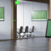 Las soluciones de Creston y AppSpace facilitan la comunicación en el entorno de trabajo