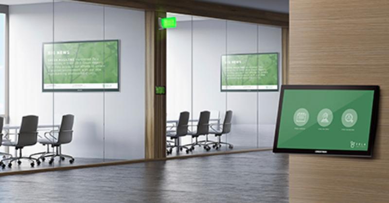Las soluciones de Creston y AppSpace ofrecen una comunicación más fluida en los entornos de trabajo.