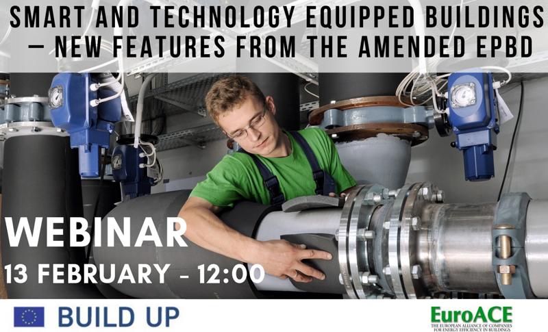 El próximo día 13 de febrero se llevará a cabo un seminario online para conocer aspectos de la nueva legislación sobre la eficiencia energética de la UE.