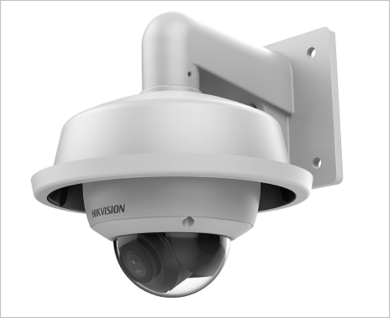 La aplicación de la Inteligencia Artificial en la cámara AcuSense ayuda a identificar a las personas y vehículos y eliminar las falsas alarmas.