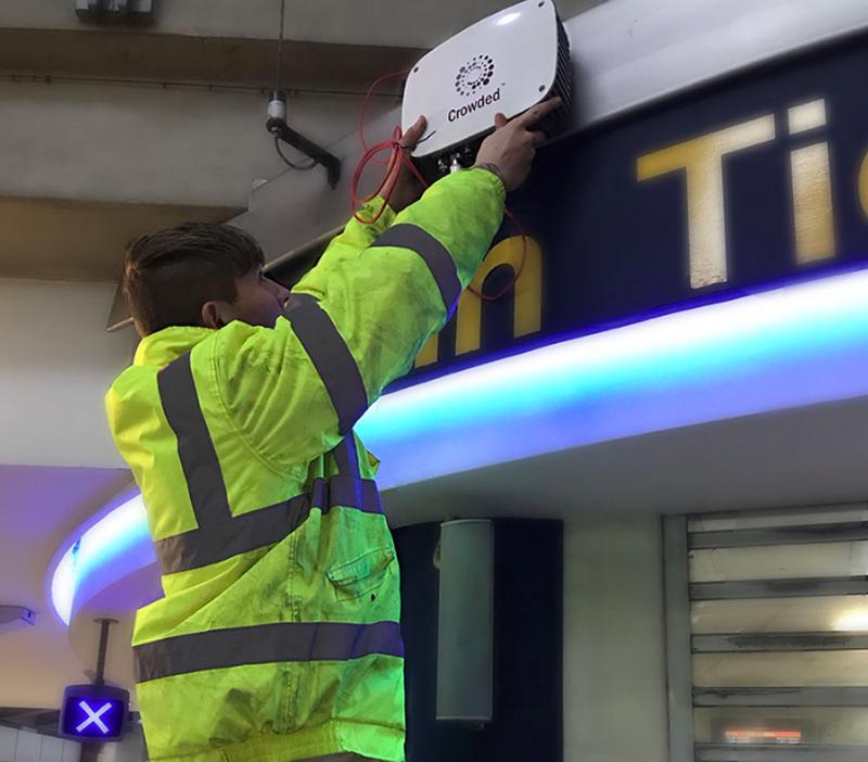 Un total de seis dispositivos Meshlium de Libelium se han instalado a lo largo de todo el aeropuerto de Manchester.