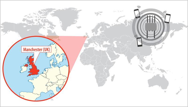 El sistema de Meshlium monitoriza los dispositivos a través de las señales Wi-Fi y Bluetooth, sin necesidad de estar conectados a una red en concreto.
