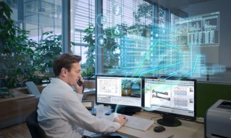 La familia de Desigo CC de Siemens ofrece a los gestores de los edificios inteligentes el control de los sistemas de automatización.