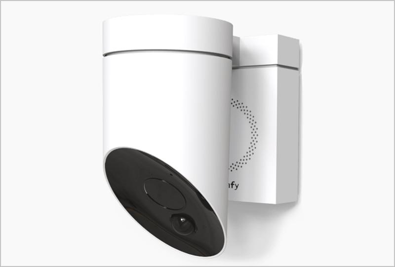 La cámara de exterior de Somfy incorpora Wi-Fi y un encriptado de seguridad para garantizar la privacidad de los datos personales.