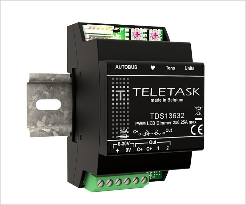 Los atenuadores de iluminación Led de Teletask ofrecen una atenuación suave en los diferentes grados de intensidad lumínica.
