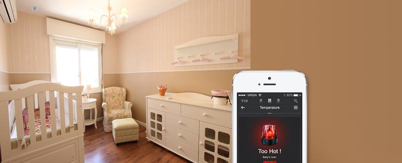 El sensor Health de TIS Smart Home también monitoriza los niveles de COV.