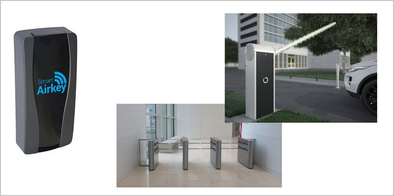 Con ayuda de la tecnología Bluetooth, el sistema de Xmetra permite la gestión de puertas o barras desde el teléfono móvil.