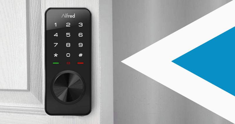 El módulo Z-Wave permite a la cerradura inteligente de Alfred gestionar los accesos a través de los comandos de voz.