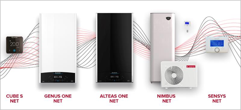 Hasta el momento, las calderas inteligentes de Ariston son compatibles con los asistentes virtuales de Apple y Amazon, aunque próximamente también lo será Google.