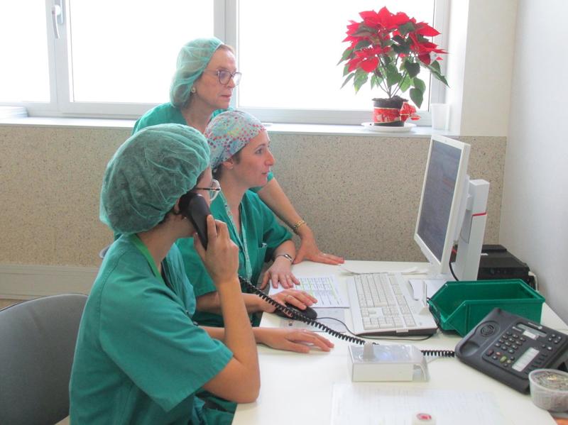 El personal médico dispone de un ancho de banda para beneficiarse de las ventajas de las conexiones Wi-Fi.
