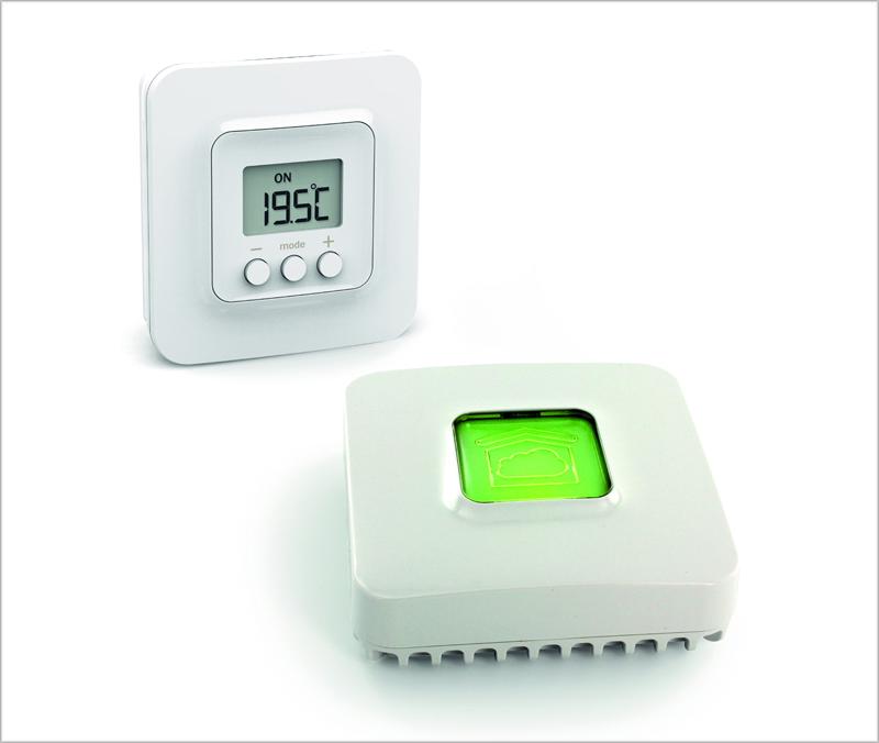 El termostato inteligente Tybox 5000 controla el funcionamiento de las calderas para obtener mayor eficiencia energética en las viviendas conectadas.