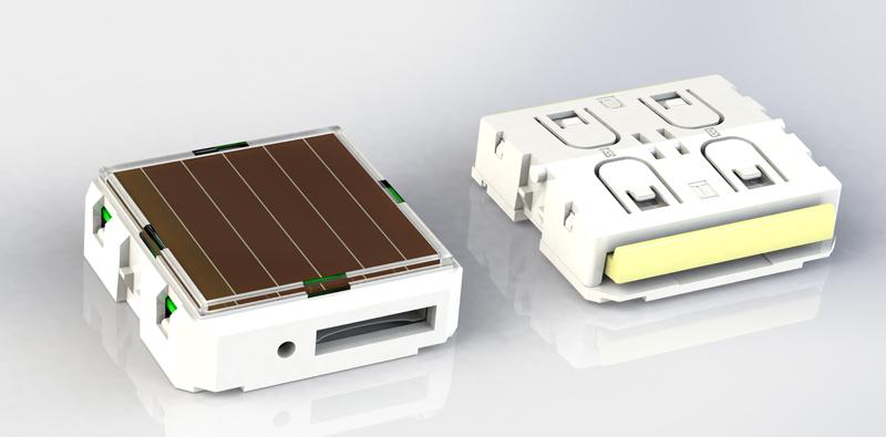 Los nuevos conmutadores PTM de EnOcean disponen de tecnología NFC y autoalimentación por unas pequeñas placas solares.