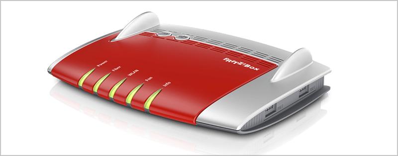 El router Fritz 5491 incorpora diversas conexiones LAN y USB para ofrecer un mayor servicio.