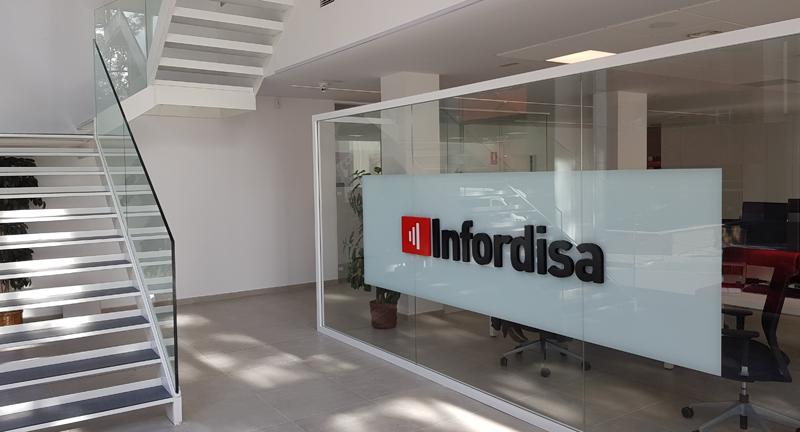 Las oficinas de Infordisa en Tarragona están automatizadas para proporcionar un mayor confort a los empleados.