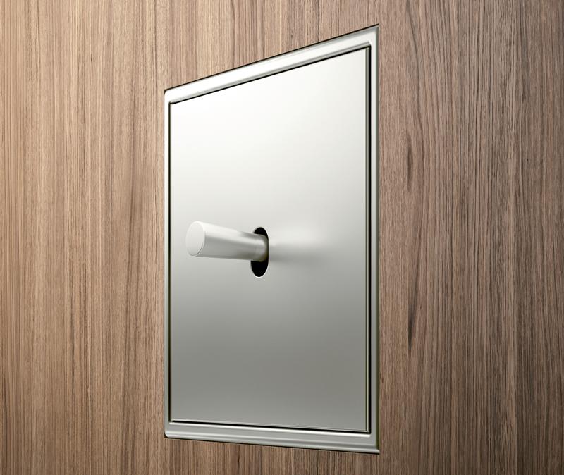 Los mecanismos LS 1912 es compatible con más de 200 enchufes, interruptores y conexiones de la marca Jung.