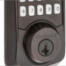 La cerradura inteligente Aura de Kwikset incluye las tecnologías Bluetooth y SmartKey Security