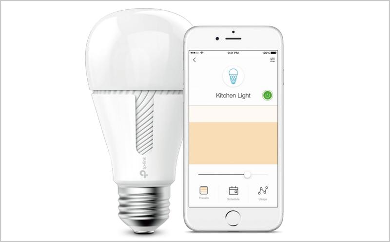 Las bombillas inteligentes KL110 y KL130 permiten un control total de la iluminación para crear ambientes personalizados.