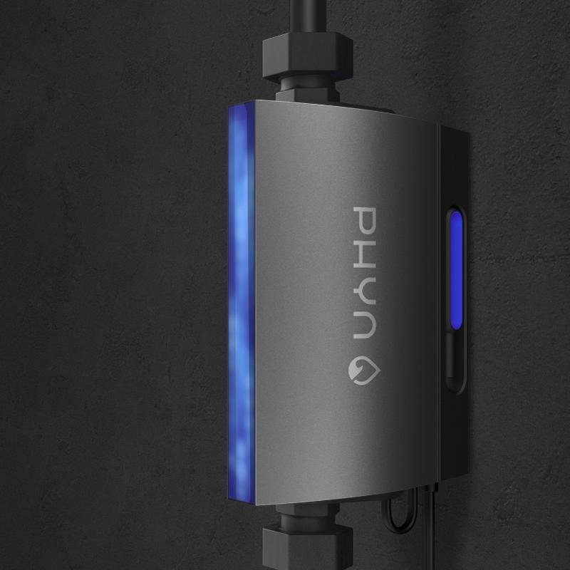 El dispositivo Phyn Plus permite detectar las fugas de agua y cortar el suministro de la tubería principal para evitar daños mayores.
