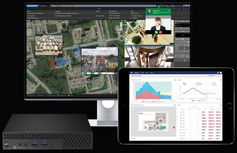 Esta plataforma de Genetec integra sistemas de análisis para optimizar la seguridad de los bancos.