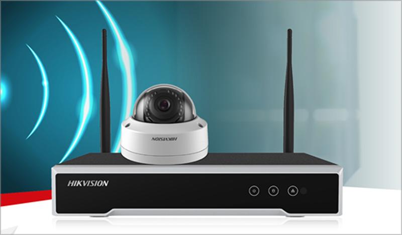 Hikvision ha desarrollado una cámara de seguridad inalámbrica que proporciona la misma seguridad como los sistemas de seguridad cableados.