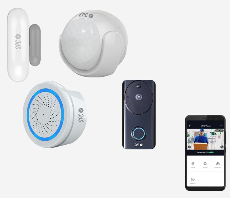 Los kits inteligentes de SPC abarcan desde la seguridad hasta la creación de ambientes en el hogar conectado.