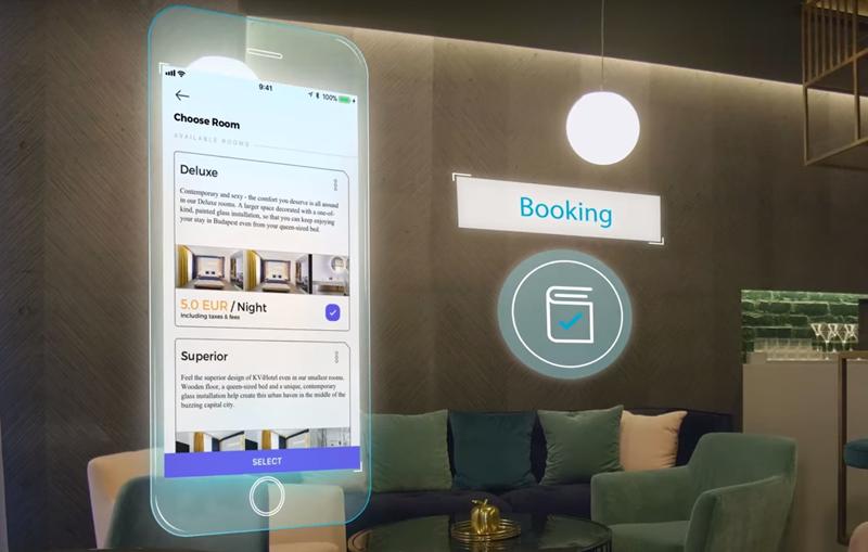 Desde la reserva hasta el chech out se realiza con la aplicación TMRW Hotels.
