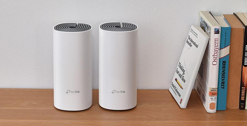 El Wi-Fi Mesh Deco E4 se comercializa en pack de dos dispositivos que pueden usarse como extensor de la señal o como router principal.