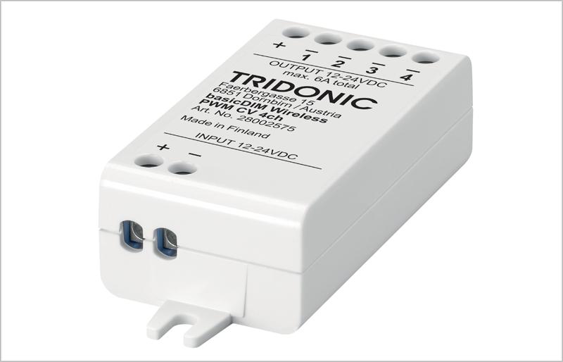 Tridonic ha lanzado dos nuevos módulos para conectar las luminarias a través del protocolo DALI y con una comunicación por Bluetooth.