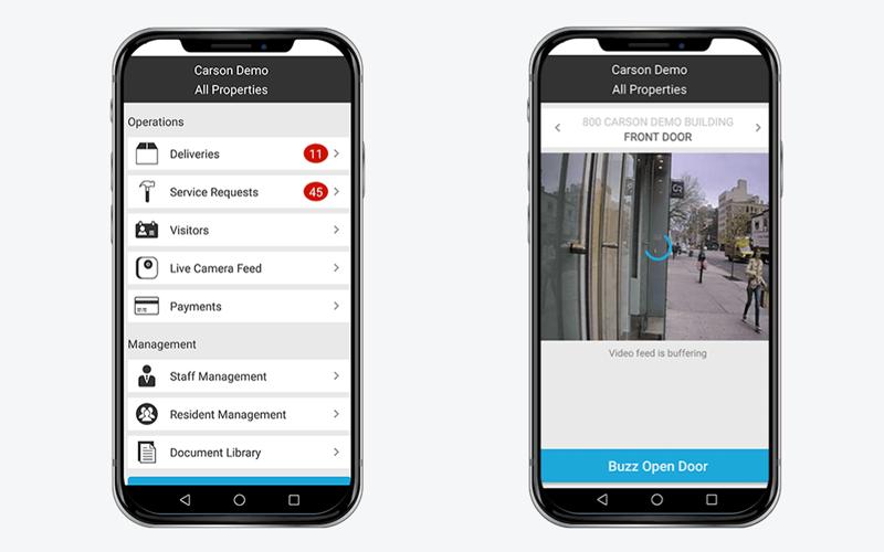 La integración de las tecnologías de 2N y Carson ofrecen a los usuarios nuevas funcionalidades.