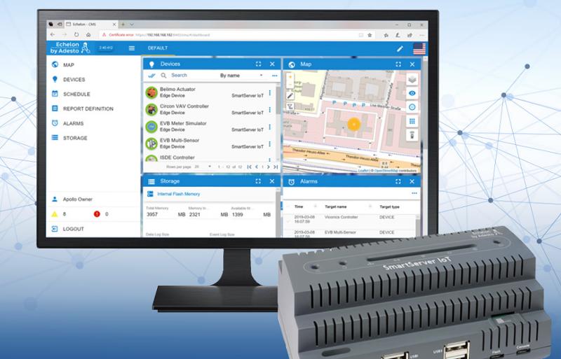 Adesto ha desarrollado una puerta de enlace IoT para facilitar la integración de los dispositivos inteligentes en los edificios automatizados.